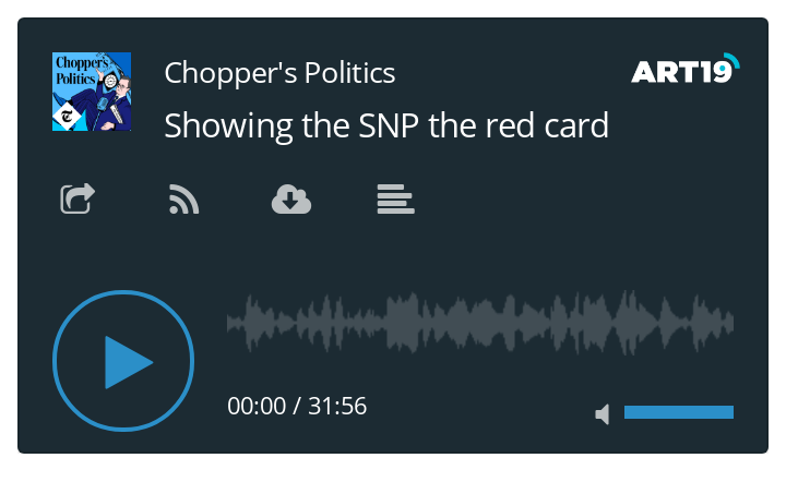 Chopper's Politics - Douglas Ross