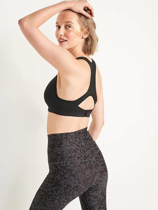 <p>Let this <span>Old Navy High Support Racerback Sports Bra</span> ($25, originally $33) carry you from HIIT class at the gym to running in the park, thanks to padded shoulder straps and a double layer of support.</p>
