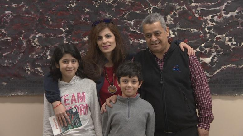 Yazidi refugee from Syria uses art to find peace in Winnipeg