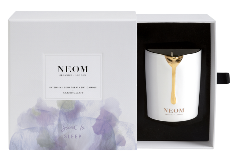 "<p>Neom Tranquility Intensive Treatment Candle, $40, <a rel=""nofollow"" href=""https://www.bathandunwind.com/neom/gifts/neom-tranquility-intensive-treatment-candle?pvID=22315&gclid=Cj0KEQiAuonGBRCaotXoycysvIMBEiQAcxV0nGB8tFQ3sA6DqZwkdqs0SWewVRkIXnyX3jkTDDNOfiEaAuuv8P8HAQ""><u>bathandunwind.com</u></a>.<span></span></p>"
