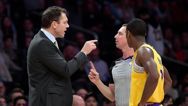 There was a verbal altercation in the Lakers' locker room following their loss to the Warriors on Saturday, and given the trade rumors swirling around the team, it should come as no surprise.