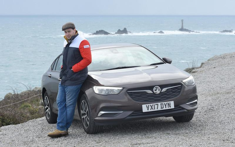 The new 2017 Vauxhall Insignia will arrive in showrooms later this year - COPYRIGHT JAY WILLIAMS