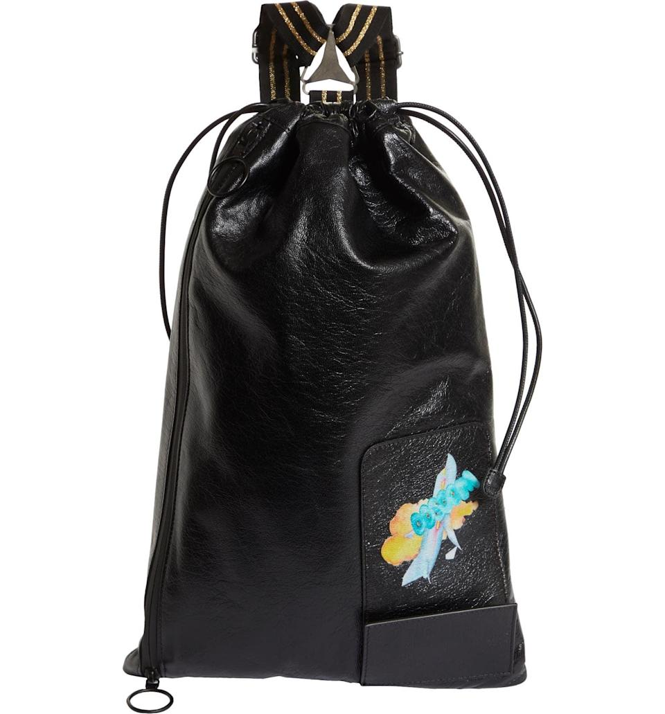 <p>This <span>Andre Walker x Off-White Suspender Leather Bag</span> ($1,080) is so cool.</p>