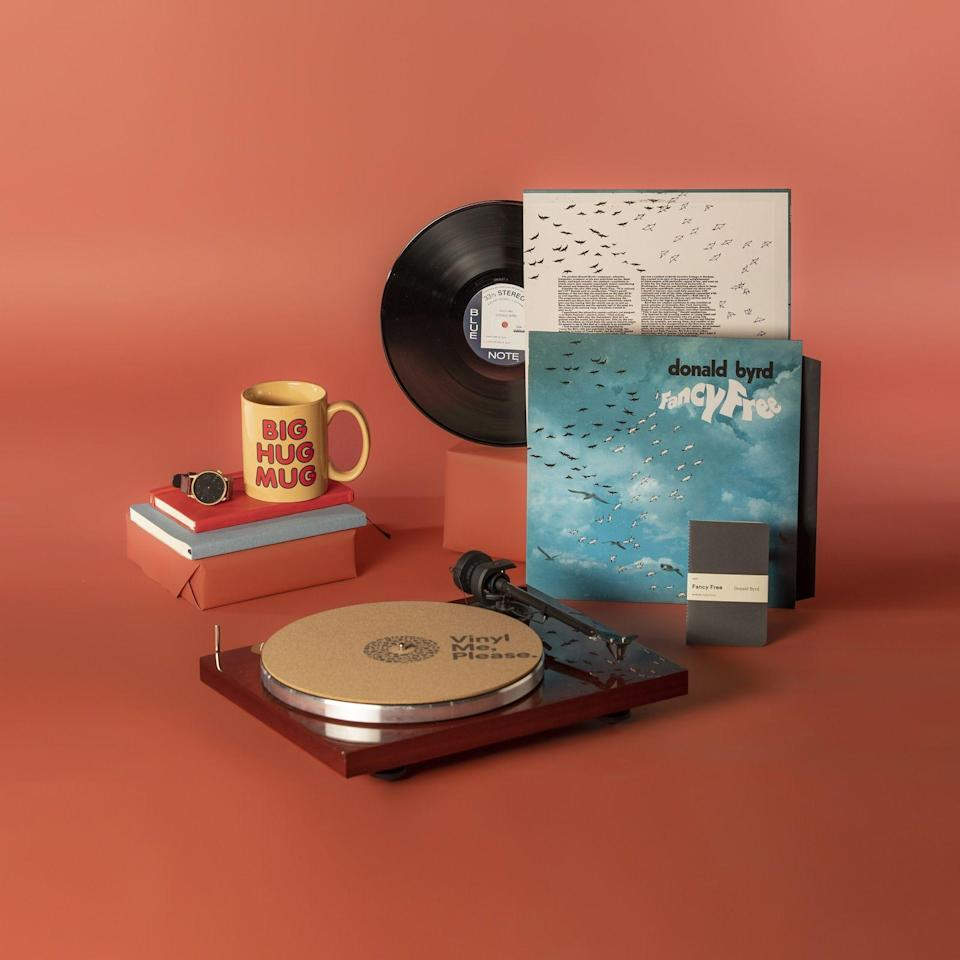 """<h3>The Musical Dad</h3><p>A vinyl membership means your dad can embark on a musical adventure with a brand-new album every month. Choose his musical taste — classic jazz to old school finds or a mix of cross-genre essentials — and prepare for the gift that keeps on giving. Bonus points for when he learns all the words to Phoenix's, """"Lisztomania.""""</p><br><br><strong>Vinyl Me, Please</strong> Vinyl Me, Please Gift Membership, $99, available at <a href=""""https://app.vinylmeplease.com/products/gifts/gift-membership"""" rel=""""nofollow noopener"""" target=""""_blank"""" data-ylk=""""slk:Vinyl Me, Please Gift Membership"""" class=""""link rapid-noclick-resp"""">Vinyl Me, Please Gift Membership</a>"""