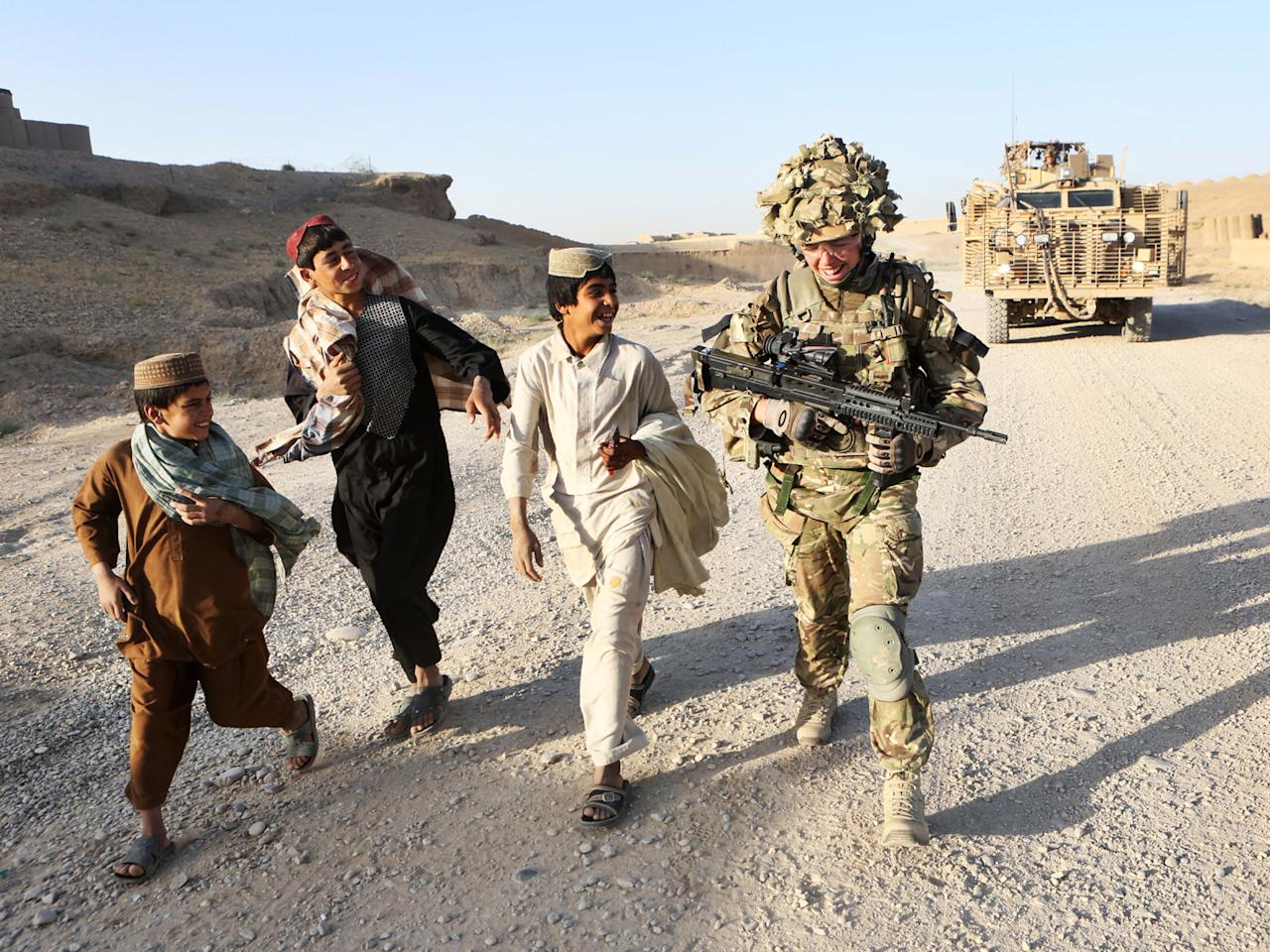 The Royal British Legion commissioned Alison Baskerville to accompany woman serving in the most dangerous parts of Afghanistan (Alison Baskerville)
