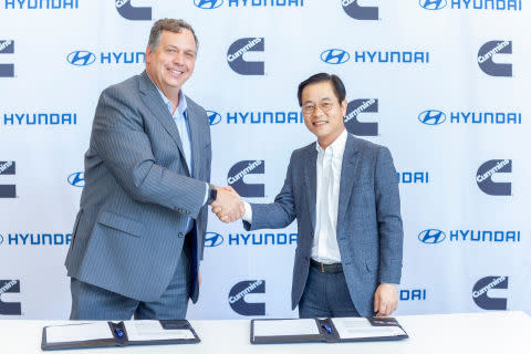 Hyundai Motor Company and Cummins to Collaborate on Hydrogen Fuel Cell Technology