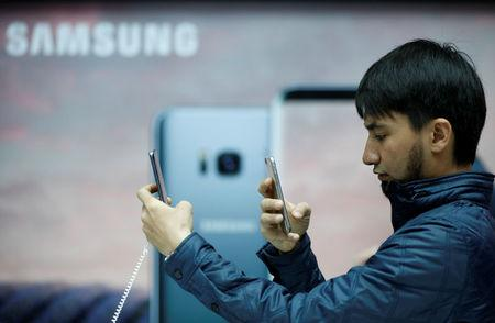 On trial for bribery, Samsung boss lets lawyers do the talking
