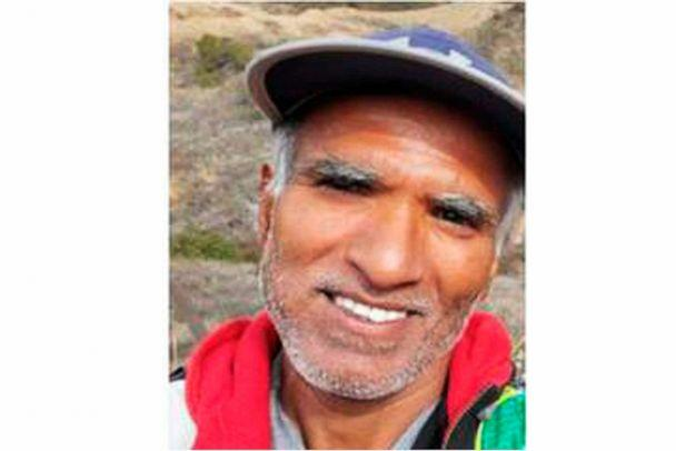 PHOTO: This undated photo released by the San Bernardino County Sheriff's Office shows Sree Mokkapati, as they search for him after he went missing hiking on snow-covered Mount Baldy on Sunday, Dec. 8, 2019. (San Bernardino County Sheriff's Office via AP) (AP)