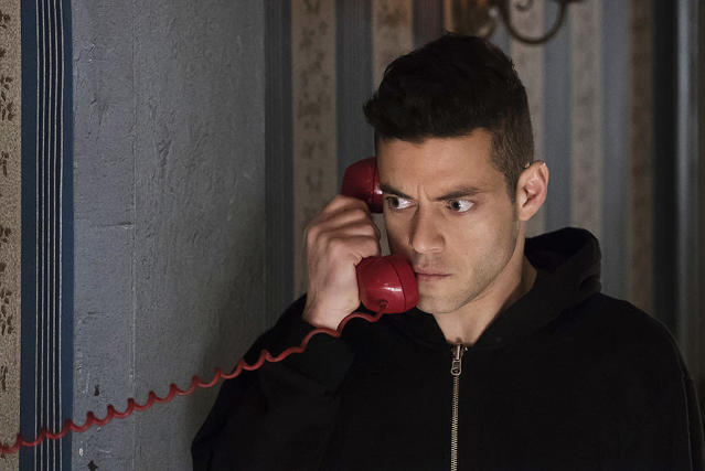 <p>Looks as if last year's surprise Outstanding Actor award winner won't have a chance at a repeat victory. Malek, along with the rest of <i>Mr. Robot</i>'s main ensemble (B.D. Wong nabbed a Guest Actor nod), was overlooked in the acting categories, and the controversial second season was also shut out of Outstanding Drama contention. <i>— EA</i> </p>