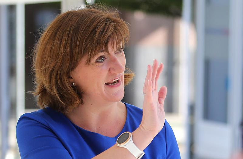 Nicky Morgan MP during the final day of the Conservative Party Conference at the Manchester Convention Centre. Picture dated: Wednesday October 2, 2019. Photo credit should read: Isabel Infantes / EMPICS Entertainment