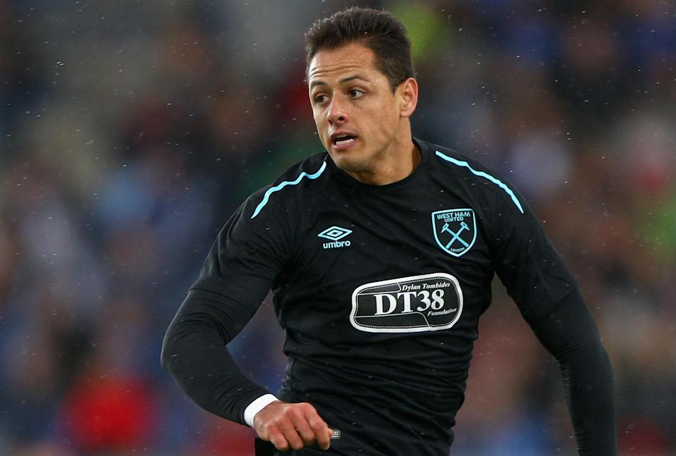 Mexican international Javier Hernandez has signed with West Ham to help with the push toward Europe. (Getty)