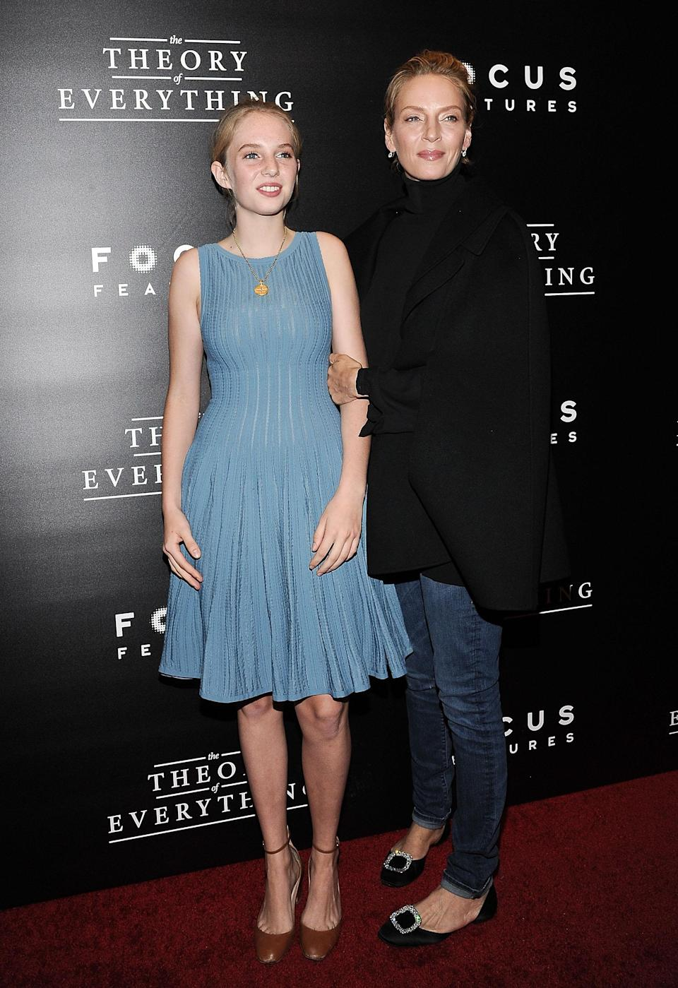<p>Maya, aged 19, is already on her way to establishing herself as globally-known actress. The daughter of Ethan Hawke and Uma Thurman wowed in the 2017 TV adaptation of 'Little Women' and is set to star in the third season of Netflix's 'Stranger Things' hit show. <em>[Photo: Getty]</em> </p>