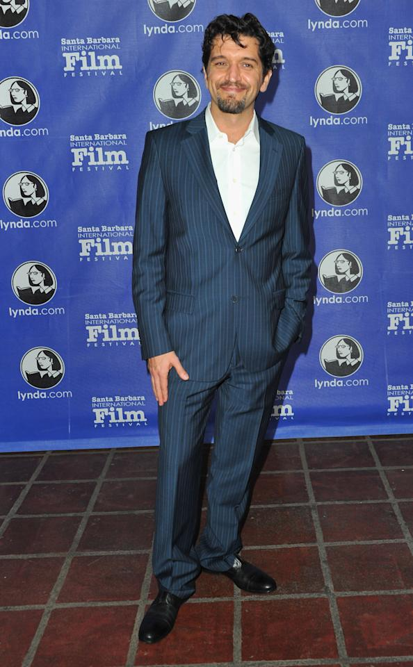 "SANTA BARBARA, CA - JANUARY 26:  Director Enrico Casarosa arrives to the Santa Barbara International Film Festival's opening night premiere of Sony Pictures Classics' ""Darling Companion""  at Arlington Theatre on January 26, 2012 in Santa Barbara, California.  (Photo by Alberto E. Rodriguez/Getty Images)"