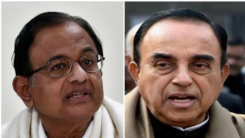 Remove Chidambaram from Ministry: Swamy tells PM after I-T Report