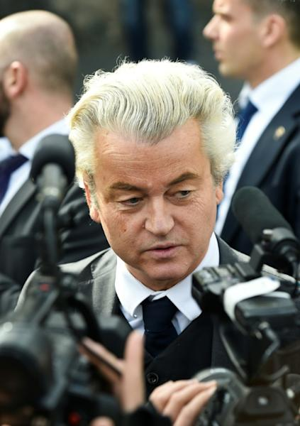 Dutch far-right Freedom Party leader Geert Wilders has seen his ratings slip ahead of the March 15 vote