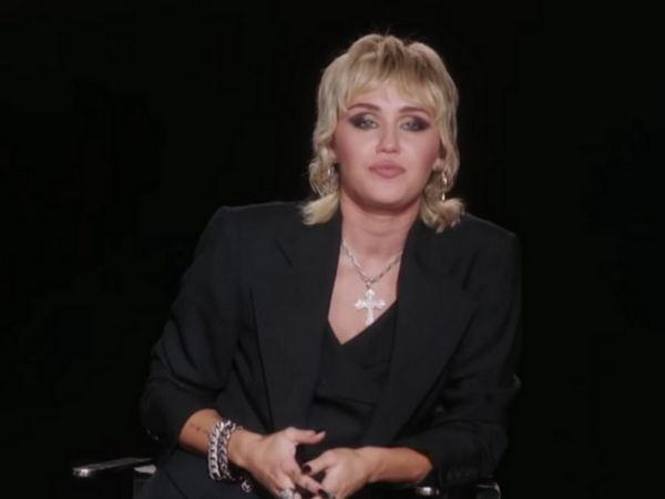 Miley Cyrus on the show. (Image courtesy: Youtube)