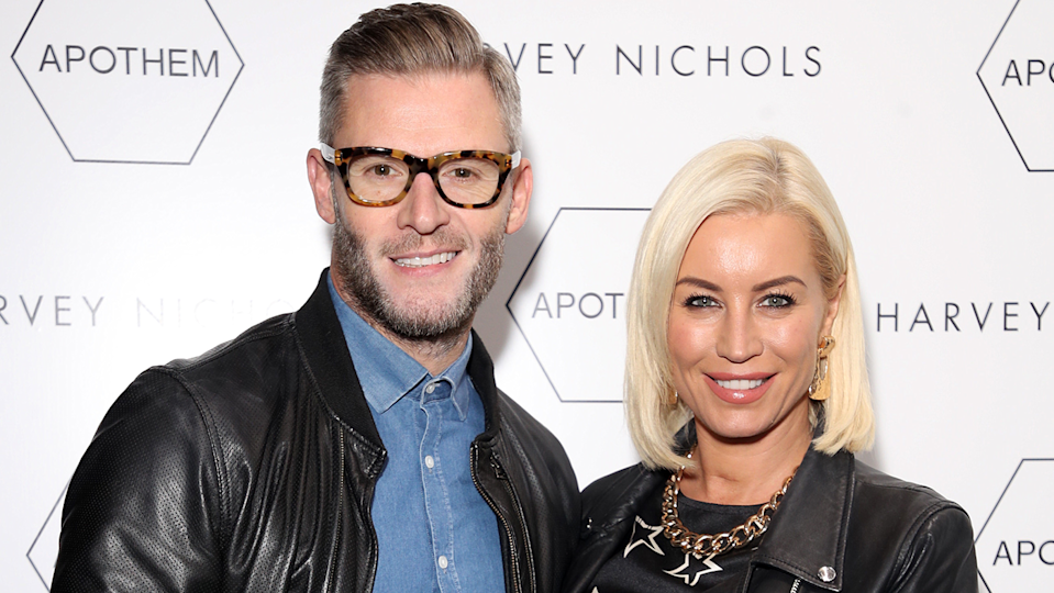 Denise Van Outen and partner Eddie Boxshall have been going through relationship therapy for their new podcast Before We Say I Do (Image: Getty Images)