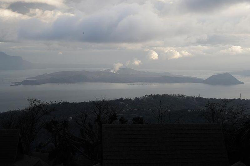 Taal alert level lowered, but Phivolcs says it's not safe yet