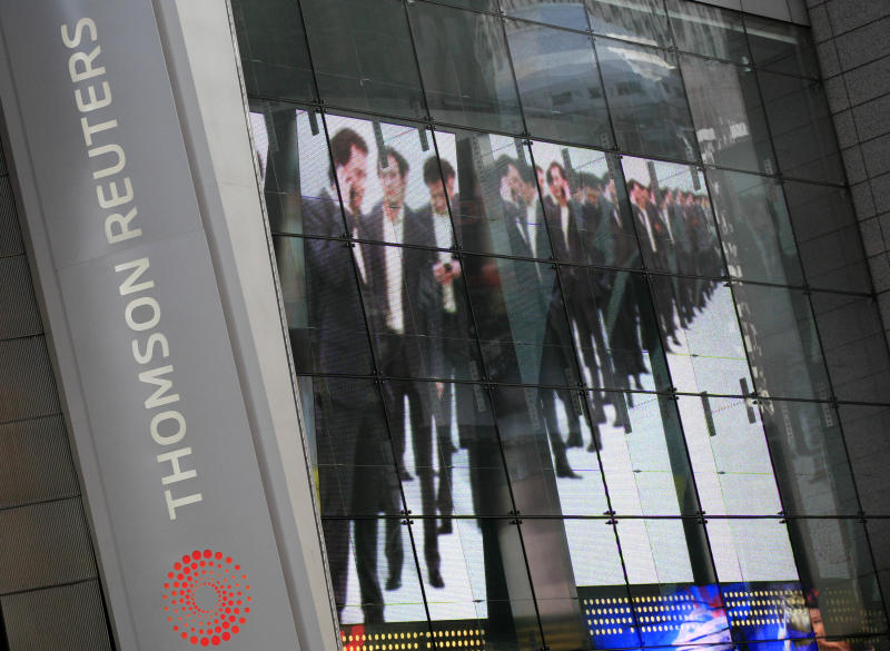 Thomson Reuters to cut 2,500 jobs
