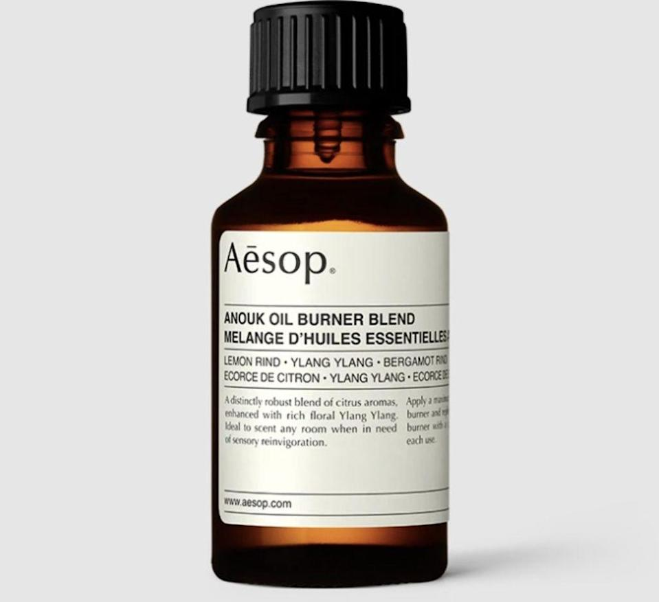 aesop, best fragrance oils for candles