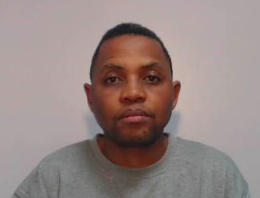Aubrey Pule Padi was jailed for murdering his estranged wife as she slept. (Reach)