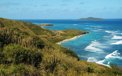 View from St Croix towards Buck Island - Credit: iStock