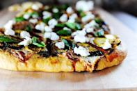 """<p>Customize this fun pizza recipe however you please.</p><p><strong><a href=""""https://thepioneerwoman.com/cooking/grilled-vegetable-pizza/"""" rel=""""nofollow noopener"""" target=""""_blank"""" data-ylk=""""slk:Get the recipe."""" class=""""link rapid-noclick-resp"""">Get the recipe.</a></strong></p><p><a class=""""link rapid-noclick-resp"""" href=""""https://go.redirectingat.com?id=74968X1596630&url=https%3A%2F%2Fwww.walmart.com%2Fip%2FThe-Pioneer-Woman-Timeless-Beauty-Pre-Seasoned-Plus-20-Cast-Iron-Double-Griddle%2F117723541&sref=https%3A%2F%2Fwww.thepioneerwoman.com%2Ffood-cooking%2Fmeals-menus%2Fg32188535%2Fbest-grilling-recipes%2F"""" rel=""""nofollow noopener"""" target=""""_blank"""" data-ylk=""""slk:SHOP GRIDDLES"""">SHOP GRIDDLES</a></p>"""