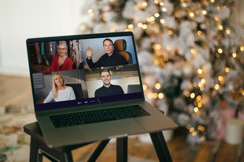 "<span class=""attribution""><a class=""link rapid-noclick-resp"" href=""https://www.shutterstock.com/image-photo/virtual-christmas-tree-meeting-team-teleworking-1857489313"" rel=""nofollow noopener"" target=""_blank"" data-ylk=""slk:Girts Ragelis/Shutterstock"">Girts Ragelis/Shutterstock</a></span>"
