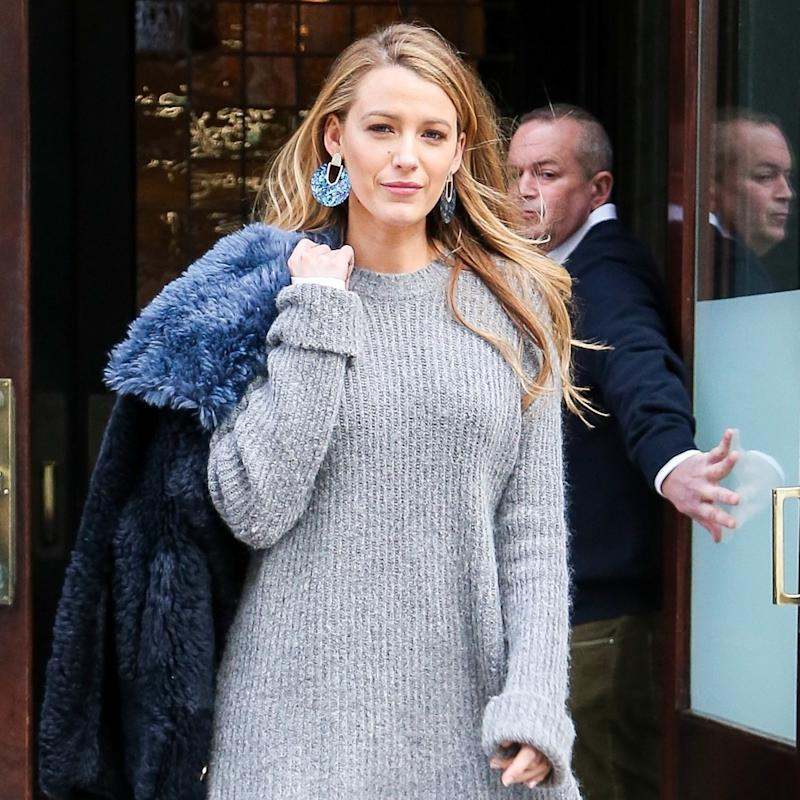 Blake Lively Offers a Lesson on How to Do Bare Legs in Winter