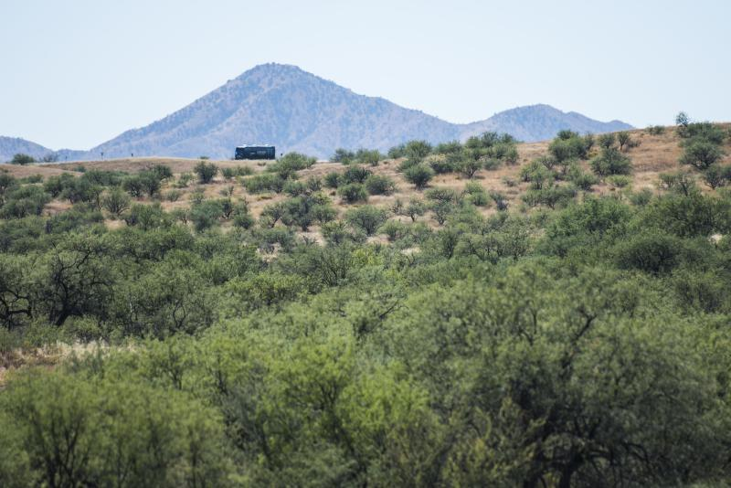 Arivaca, Arizona, is a small town of just 695 people. Its residents have found their own ways to help desperate people crossing the border with Mexico. (Damon Dahlen/HuffPost)
