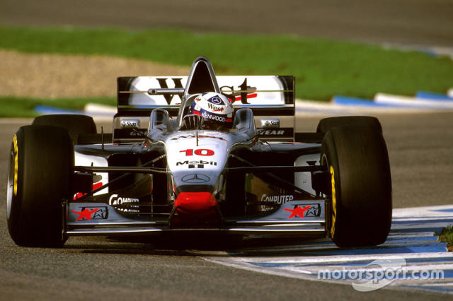"1997: McLaren-Mercedes MP4/12 <span class=""copyright"">LAT Images</span>"