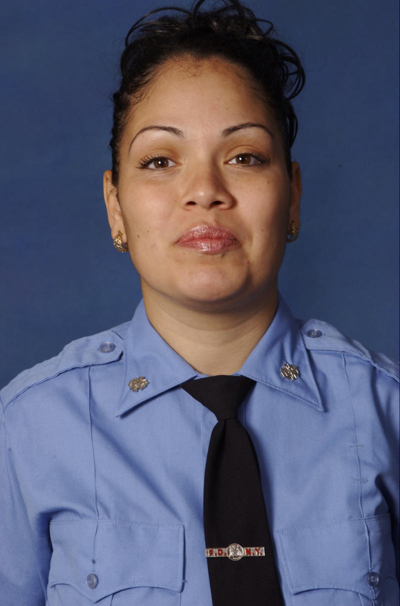 Slain NYC medic's son: 'I know she didn't die in vain'