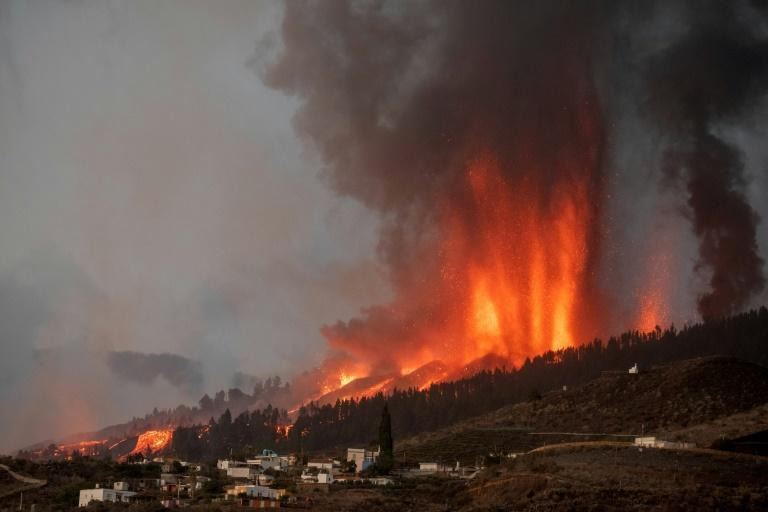 There was huge anguish among the thousands of people evacuated from their homes, with many wondering if they would have anything to go back to (AFP/DESIREE MARTIN)