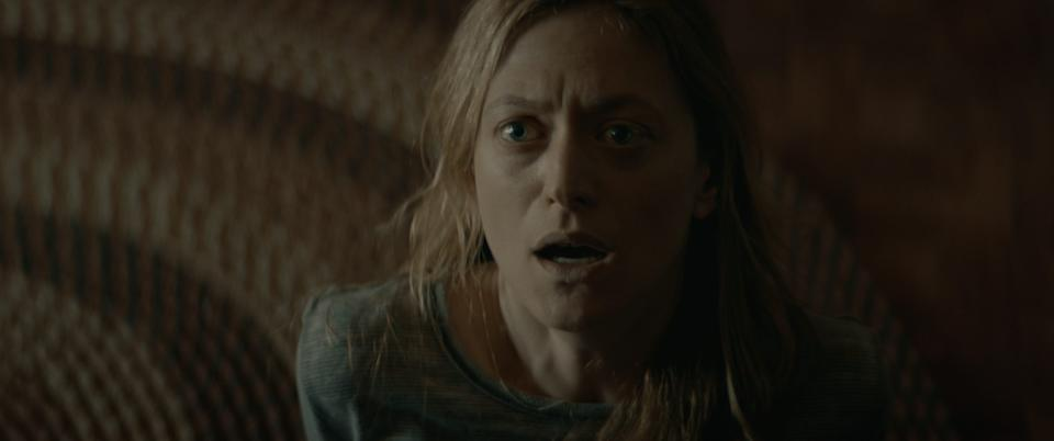 """Marin Ireland stars as a woman whose family farm is beset by an infectious evil in the horror film """"The Dark and the Wicked."""""""