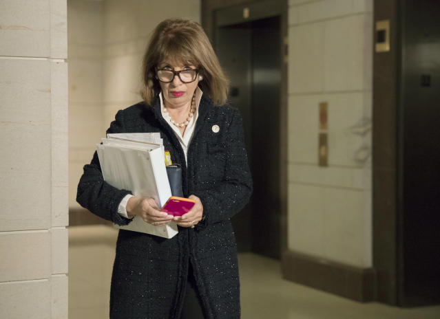 Rep. Jackie Speier, D-Calif., a member of the House Intelligence Committee. (Photo: J. Scott Applewhite/AP)