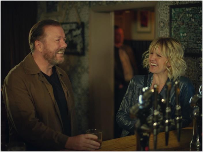 """Ricky Gervais created and stars in """"After Life."""" <p class=""""copyright"""">Netflix</p>"""
