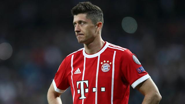 Robert Lewandowski is linked with Real Madrid, but Karl-Heinz Rummenigge played down the chances of the Bayern Munich striker leaving.