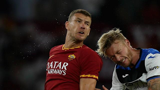 The striker picked up the unfortunate knock during the Giallorossi's recent draw at home to Cagliari