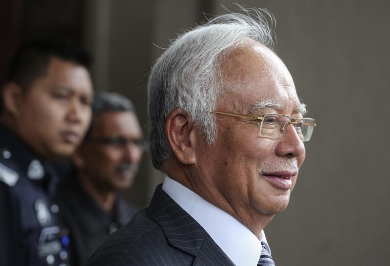 Datuk Seri Najib Razak says while it may be unfair and premature to judge the performance of the new administration now, recent data have sparked concerns over the economy's direction. — Picture by Azneal Ishak