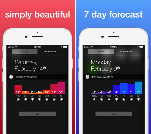 Rainbow-Weather-Widget