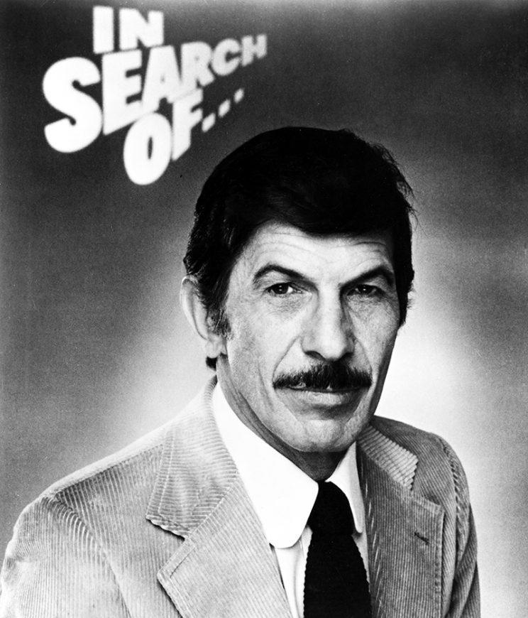 Leonard Nimoy as host of 'In Search Of…' (Credit: Everett Collection)