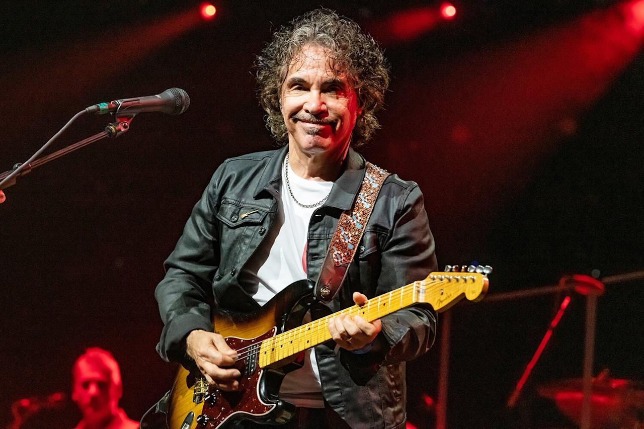 """The legendary mustachioed rocker, who is one half of the hit-making yacht rock duo Hall & Oates, opened up about his sexual past in a recent interview, admitting that he's <a href=""""https://people.com/music/hall-oates-john-oates-had-sex-thousands-of-women/"""">lost track of how many women he slept with</a> back during the height of the duo's success.  """"<a href=""""https://pagesix.com/2020/02/21/john-oates-from-hall-oates-says-hes-slept-with-thousands-of-women/"""">I'm sure it was thousands</a>,"""" Oates, 71, told the<em>New York Post</em>'s Page Six. """"I've lost track.""""  """"If you didn't live through the '70s and '80s, if you weren't a rockstar during that time, there's no way you can comprehend what it was like,"""" Oates addedof the culture at the time. """"There were no cell phones and people taking pictures of everything you did. There was no social media.""""  As scandalous as it sounds, the """"<a href=""""https://www.youtube.com/watch?v=yRYFKcMa_Ek"""">Maneater</a>"""" singer said that his romantic rendezvous were """"much more innocent"""" at the time.  """"I used to meet girls in various towns and sort of have a relationship,"""" said Oates, who has been married to his second wife since 1994. """"I might see them and then see them six months later."""""""