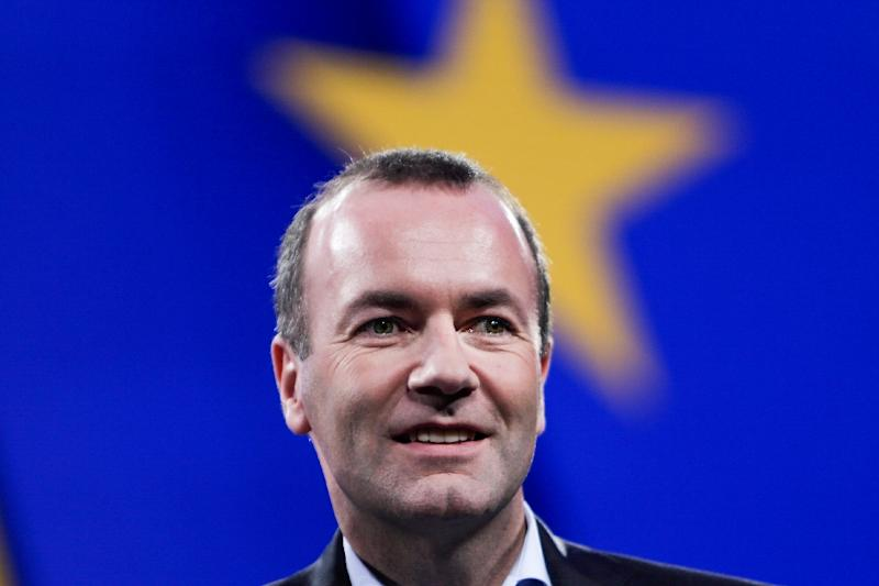 Manfred Weber of the European People's Party is hoping to become the new European Commission chief but faces opposition in some quarters (AFP Photo/Aris Oikonomou)