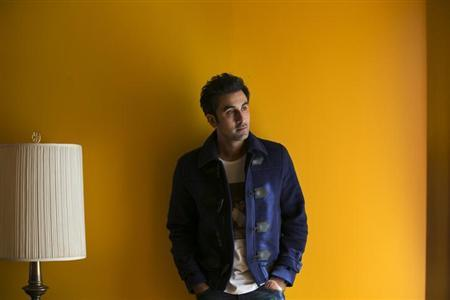 Bollywood actor Ranbir Kapoor poses for a portrait while doing interviews regarding his new film Besharam in New York, September 23, 2013. REUTERS/Lucas Jackson
