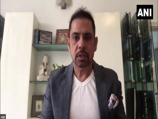 Robert Vadra during an interview with ANI. (Photo/ANI)