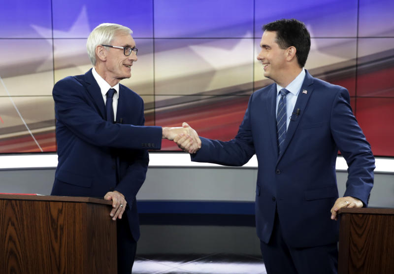Walker uses power next governor may not have to seal deal