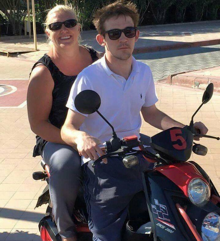 Michelle McPhillips and her son, JJ. (Michelle McPhillips)