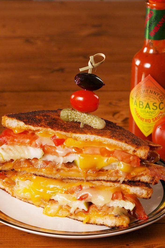 """<p>Love a Bloody Mary? Love a grilled cheese? You're in luck!</p><p><em><strong>Get the recipe at <a href=""""https://www.delish.com/cooking/recipe-ideas/a22075368/bloody-mary-grilled-cheese-recipe/"""" rel=""""nofollow noopener"""" target=""""_blank"""" data-ylk=""""slk:Delish."""" class=""""link rapid-noclick-resp"""">Delish.</a></strong></em></p>"""