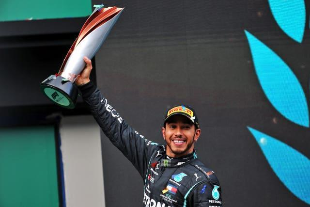 Lewis Hamilton equalled Michael Schumacher's record with his seventh world title last year