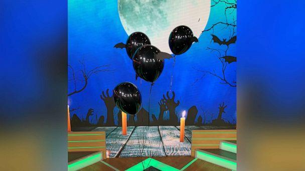 PHOTO: DIY this Spooky Balloon Decor Hack from Brit Morin, the founder and CEO of Brit + Co. (ABC)